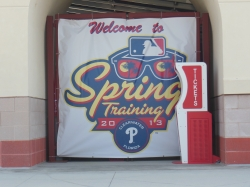 welcome to spring training